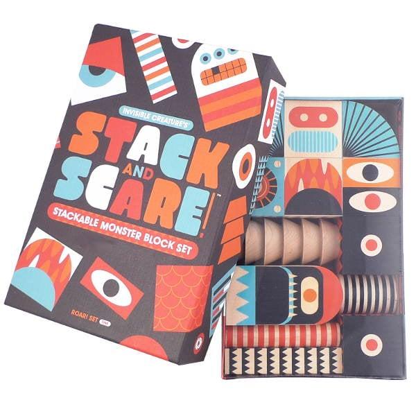 Stack 'N Scare Wooden Blocks