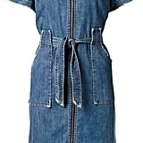 Sea zip front denim dress ($415)