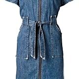 Sea zip front denim dress ($415)