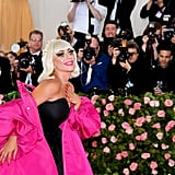 Lady Gaga Eyelashes at the Met Gala 2019