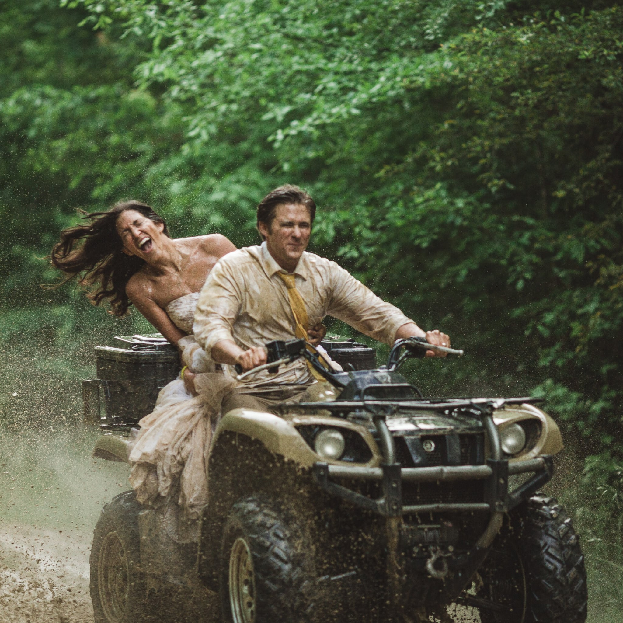 Trash The Dress Exles Of Brides Mud