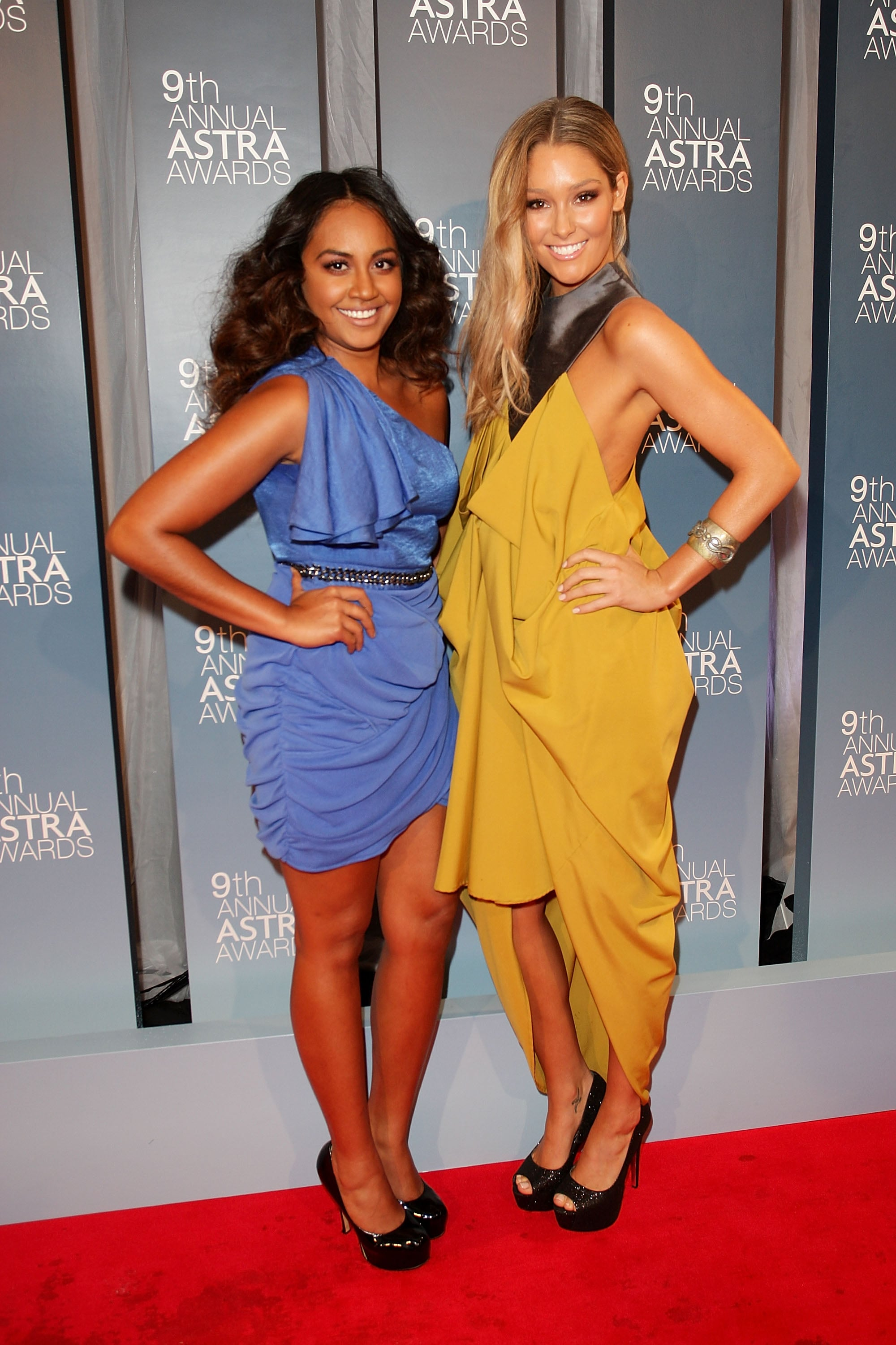 Jessica Mauboy and Erin McNaught