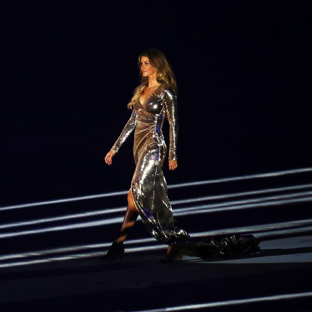 Gisele Bundchen's 2016 Olympics Opening Ceremony Dress