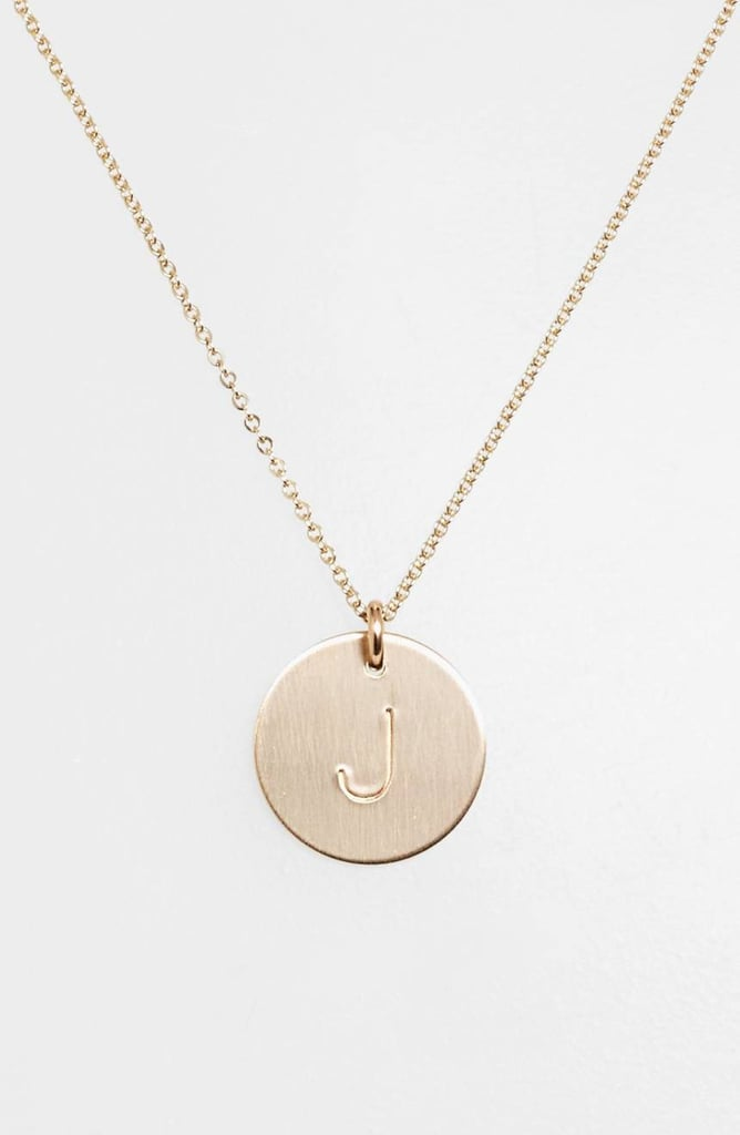 Nashelle Initial Necklace