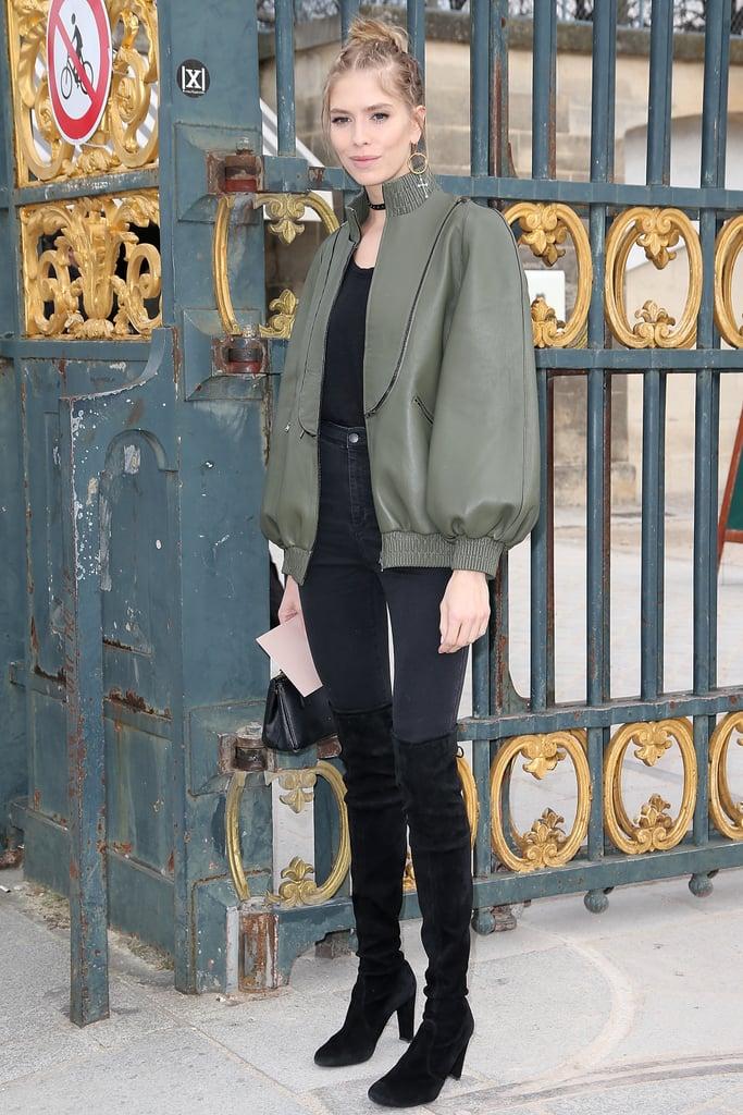 model street style at paris fashion week fall 2016