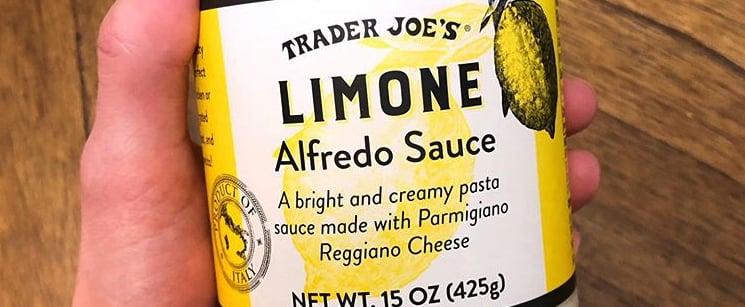 Trader Joe's Is Selling Alfredo Sauce Infused With Lemon