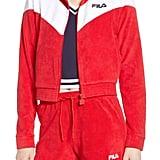 Fila Nox Velour Track Jacket