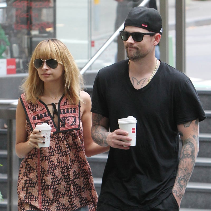 Nicole Richie and Joel Madden Go Casual to Grab Coffee in Sydney