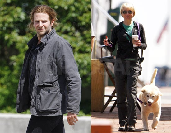 Pictures of Renee Zellweger and Bradley Cooper on the Set of The Dark Fields in Philadelphia