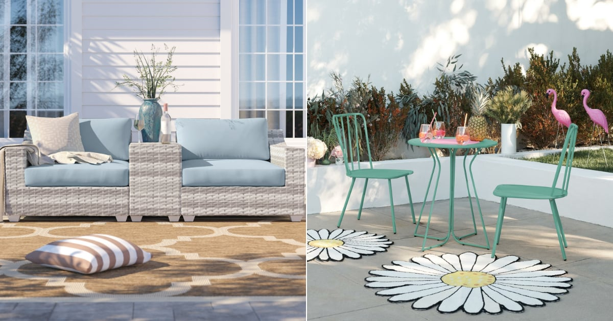 Small Patio? These 15 Space-Saving Outdoor Furniture Finds Are What You Need