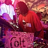 Snoop Dogg took over DJ duties at a Labor Day bash. Source: Instagram user snoopdogg