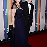 Stephen Colbert brought his wife, Evelyn McGee-Colbert, to the Kennedy Center Honors.