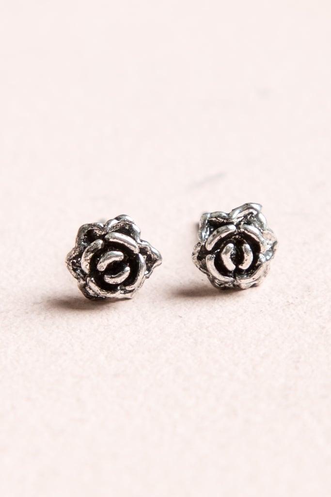 Rose Stud Earrings ($4)
