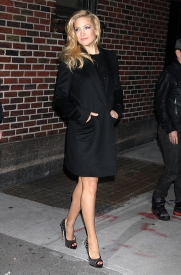 Kate Hudson at the ''Late Show with David Letterman''