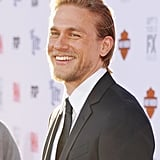 Charlie was all smiles at the Sons of Anarchy premiere in LA in September 2014.