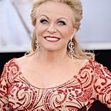 Jacki Weaver on the red carpet at the Oscars 2013.