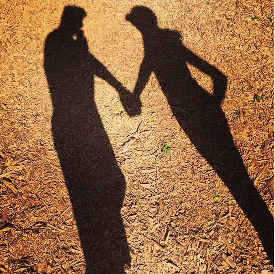 Lea Michele Holding Hands Instagram Photo
