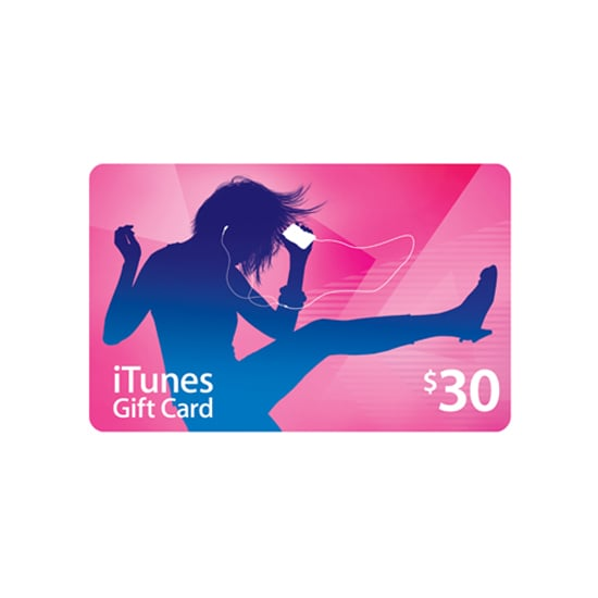 iTunes Gift Card, $30