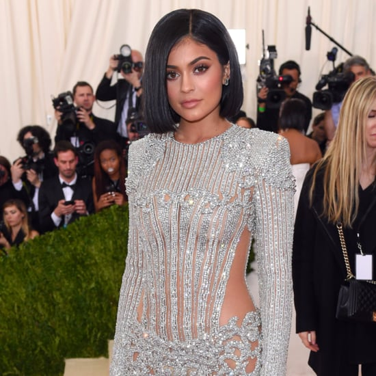 Kylie Jenner's Scratches From Her Met Gala 2016 Dress