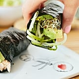 Cucumber-Avocado Tuna Hand Roll