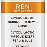 This face mask works miracles on the face, and you will repurchase it a ton. REN Space.nk.apothecary Glycol Lactic Radiance Renewal Mask ($55)