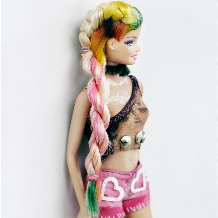 A Nail Art Beauty Salon Fashion Makeover Game For Girls: Punk Barbie Hair From Bleach London