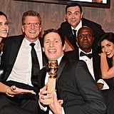The Brooklyn Nine-Nine cast got silly with their Golden Globe at Fox and FX's after party.