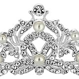 Jon Richard Silver Pearl and Crystal Swirl Tiara (£45)
