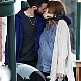 Tom Sturridge and Sienna Miller shared a passionate kiss on a getaway to Portofino, Italy, in May.