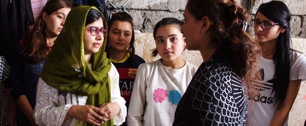 Malala Meets Yazadi Girl Who Fled Wedding For Education