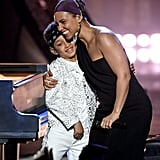 Pictured: Alicia Keys and Her Son Egypt