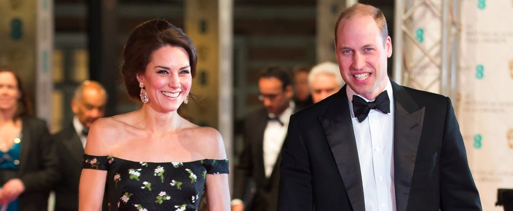 Prince William and Kate Middleton Fit In Beautifully Among the Stars at the BAFTAs
