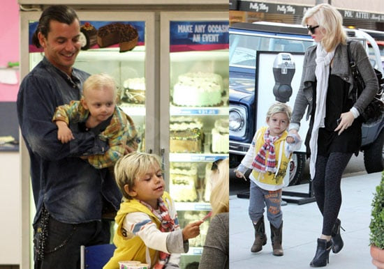 Photos of Gwen and her Boys