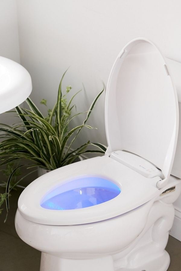 Heated Nightlight Toilet Seat