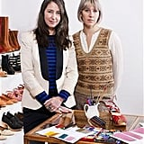 """Emy Blixt (pictured left) is the founder and designer of Swedish Hasbeens. She commented, """"We want to make fashion more fun, creative and friendly to both the environment and people.  We have loved designing for H&M! It's a fantastic opportunity to spread the idea of Hasbeens and make these shoes available to more people around the world."""""""