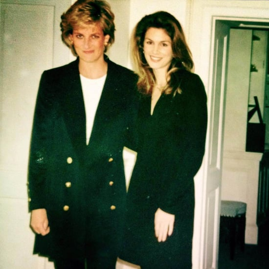 Cindy Crawford Instagram Photo With Princess Diana 2017