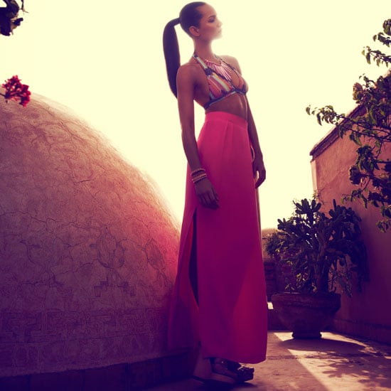 Kookai Spring Summer Campaign Starring Nicole Trunfio in Marrakesh: See the Look Book in Full!