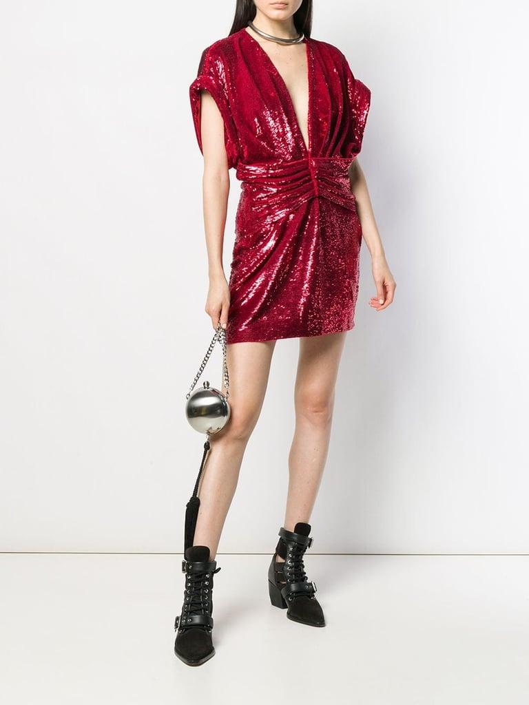 Iro Lilou Sequinned Mini Dress