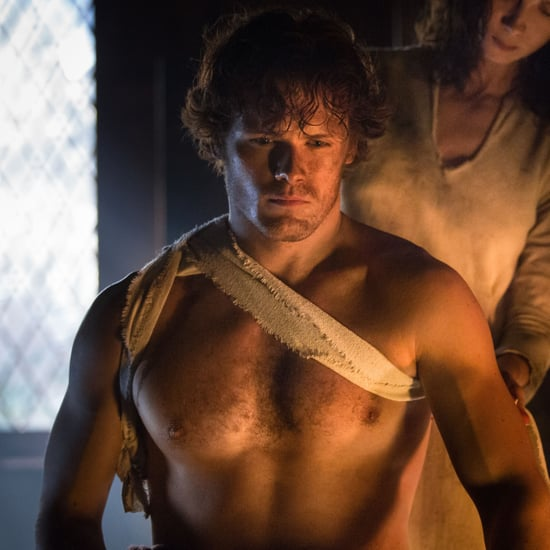 Sam Heughan Shirtless Pictures