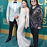 Pictured: Henry Golding, Constance Wu, and Kevin Kwan