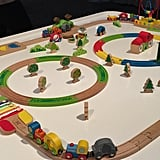 Hape Railway For Toddlers