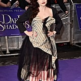 It was no surprise to see Helena Bonham Carter wearing Vivienne Westwood to the premiere.