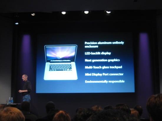 Apple Fall MacBook Announcements 2008-10-14 10:53:36
