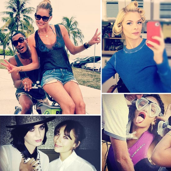 Pictures of Celebrities on Social Media | Aug 23, 2012
