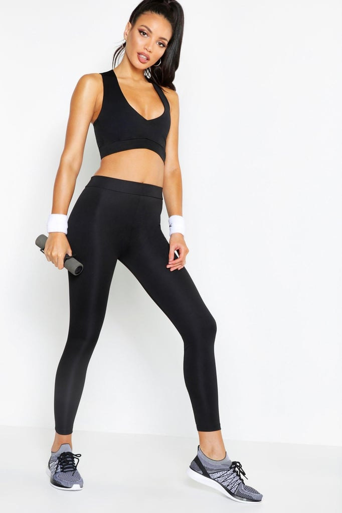Boohoo Fit High Waisted Running Leggings