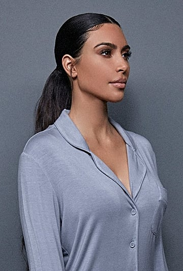 Kim Kardashian Released a Skims Sleepwear Line
