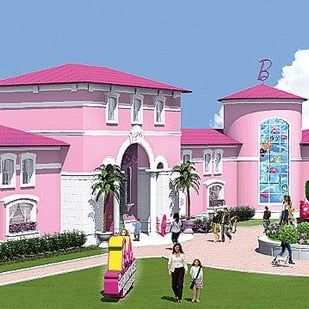 Germans Object to Barbie Dreamhouse