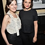 Gillian Robespierre and Jenny Slate hung out before their Obvious Child premiere on Sunday.