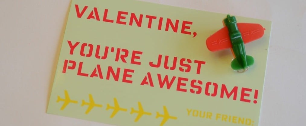 DIY Noncandy Printable Valentine's Day Cards For Kids