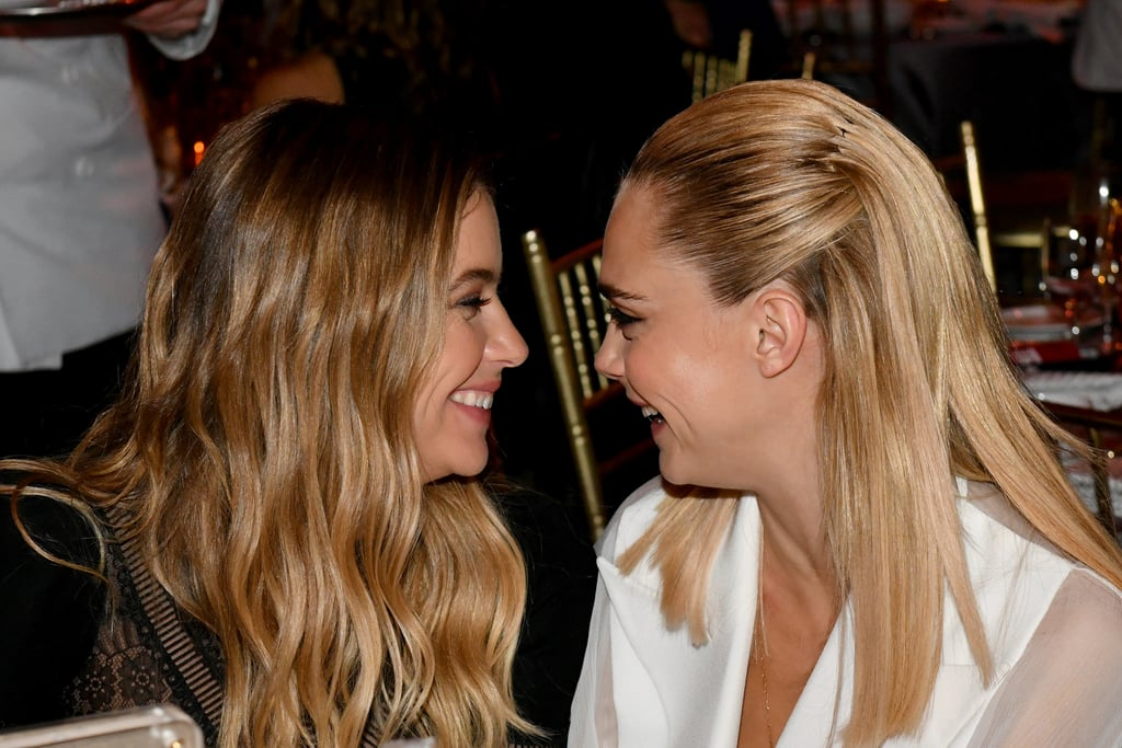 June 2019: Ashley and Cara attended the TrevorLIVE Gala in NYC together.